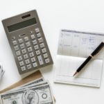 money-a-calculator-and-financial-information